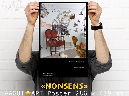 "Poster ""NONSENS"" (286x439mm)"
