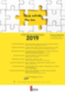 Calendario escuela de talento 2019 actua