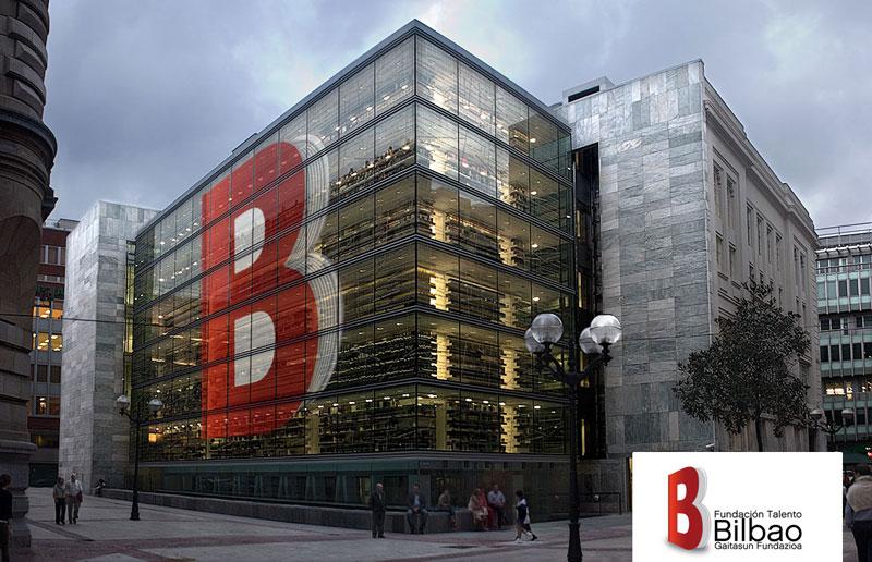 Fundación-talento-Bilbao-biblioteca