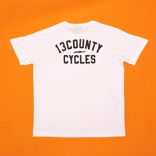 CYCLES T-SHIRT - White