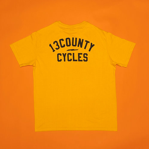 CYCLES T-SHIRT - Yellow