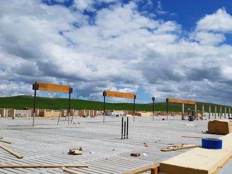 Montana Hog Barn Progress...