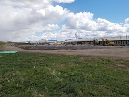 Hog Barn in Montana!
