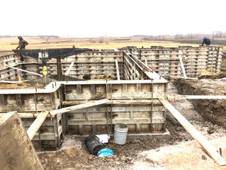 Foundation in on Boathouse Circle ✔️ 🙌