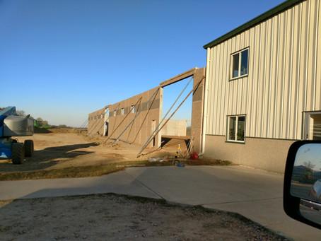 New Shop in Progress | Carpenter, SD