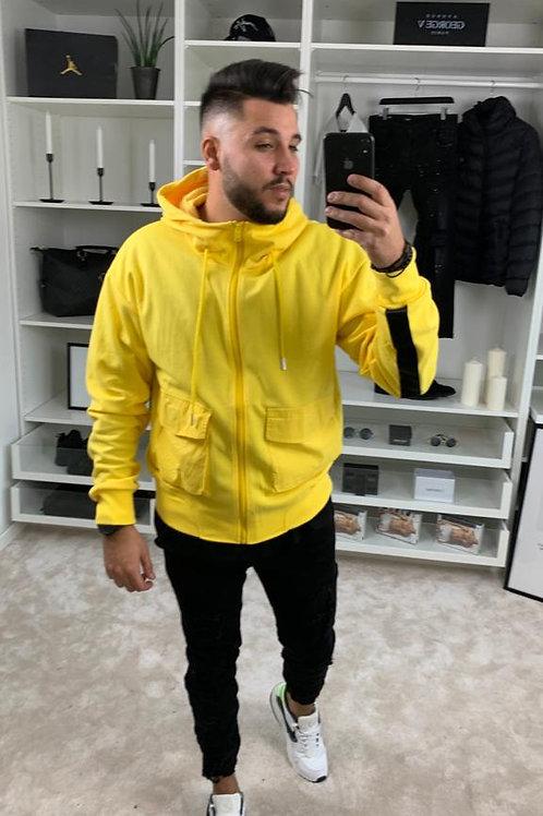 Veste jaune Sixth June