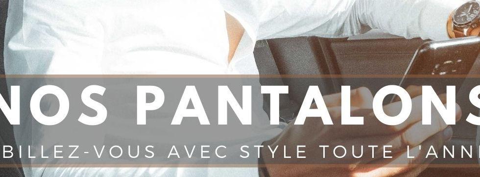 pantalons carreaux tendance homme