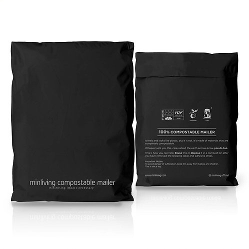 """minliving Compostable Mailer - M size, 10"""" x 13"""""""