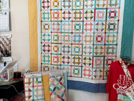 Cheater Cloth Quilt