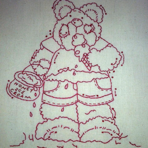 Beary Yummy Pattern