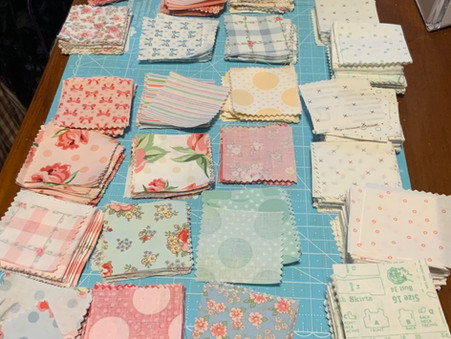 What's on Your Sewing Table Today?