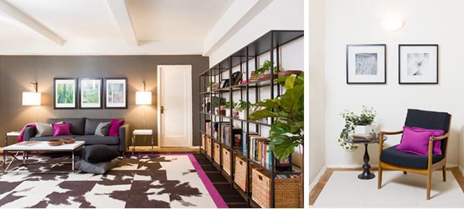 DESIGN EXCHANGE Updates a Single Mother's Apartment