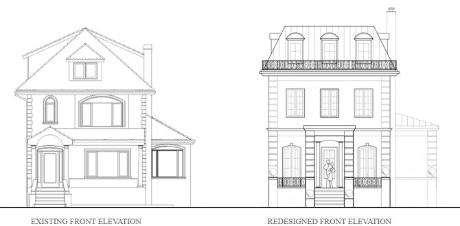 Early Redesign Plans for a Brooklyn House Renovation