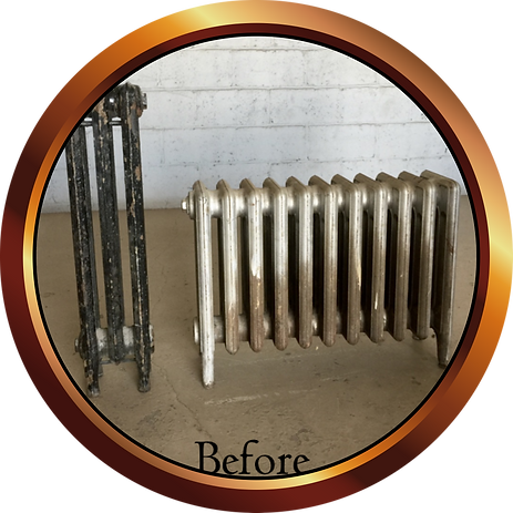 Before Ugly Radiators