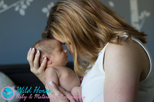 Mommy n Newborn Baby photo session