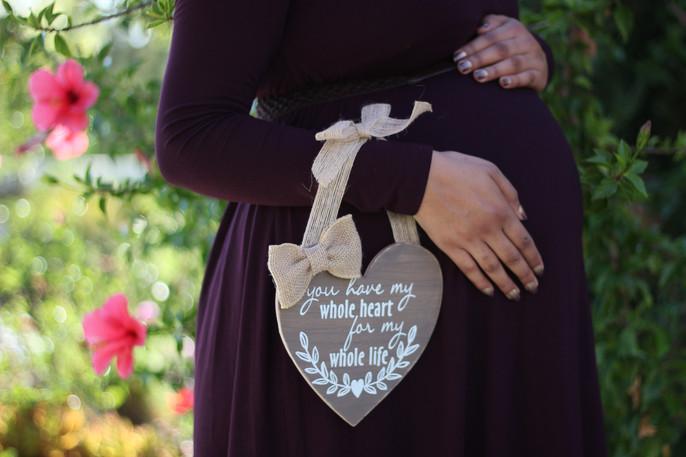 San Diego maternity outdoor photo sessio