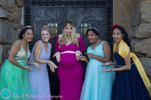 Sleeping Beauty maternity edition