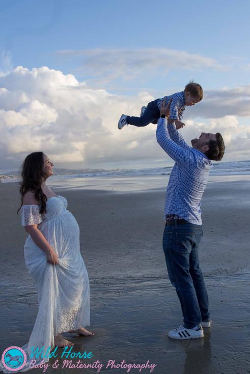 San Diego Beaches family photo session