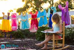 Little princess birthday photo session San Diego