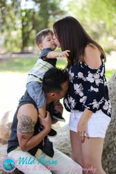 Family Kisses Portraits