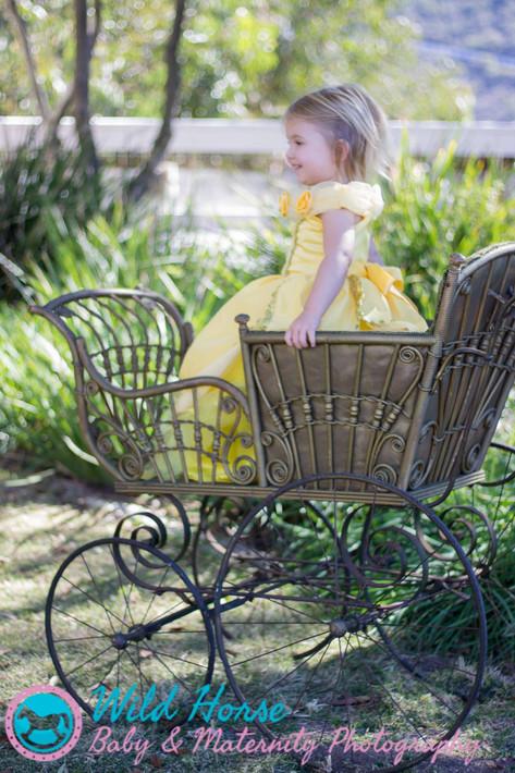 Disney Princess Toddler Photoshoot_Belle