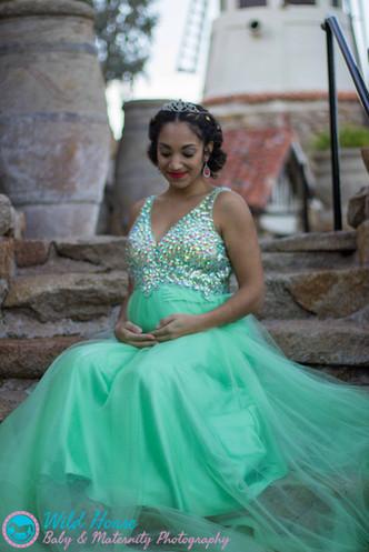 Princess Tiana Maternity_being beautiful