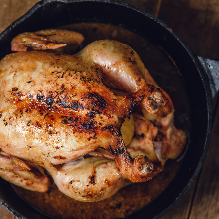 Cast Iron Skillet Roast Chicken