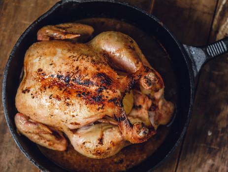 Cast Iron Skillet Roast Chicken