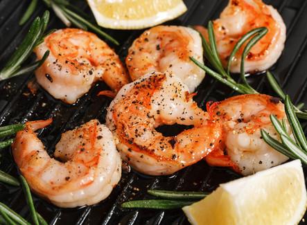Garlic Grilled Shrimp
