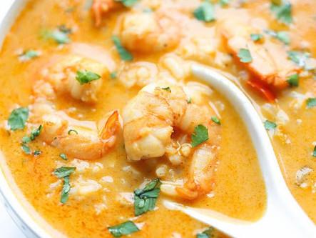 Shrimp Chowder with Fennel