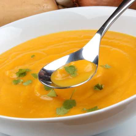 Butternut Squash with Apple Soup