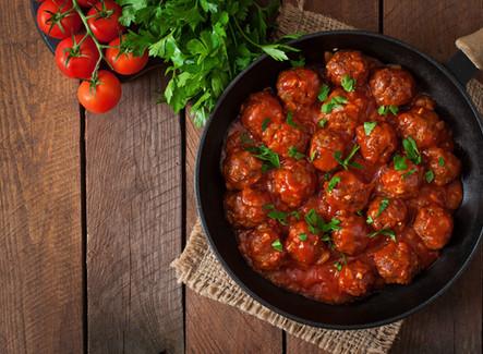 Gluten Free Homemade Meatballs