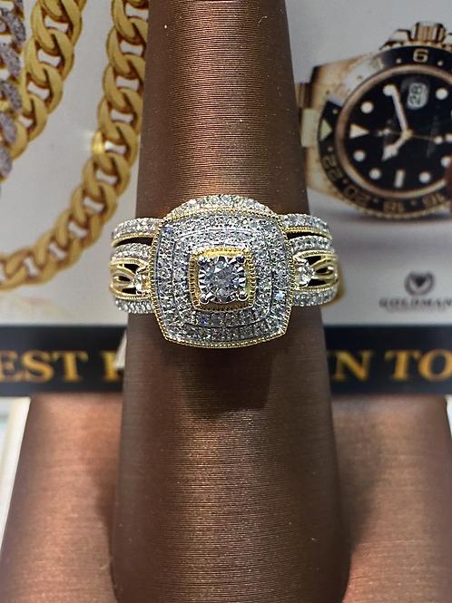 Certified Diamond Bridal Set # 304467