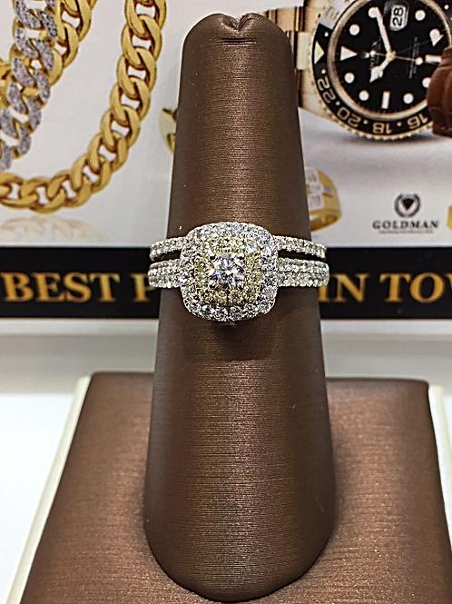 Ladies Diamond Bridal Set # 303455
