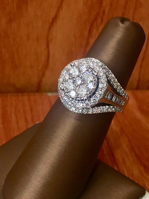 10K White Gold 2.00 CT Diamond Ring ON SALE SKU# 305163