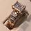 Thumbnail: 10k gold 1.00 ct diamond ring tag# 302849