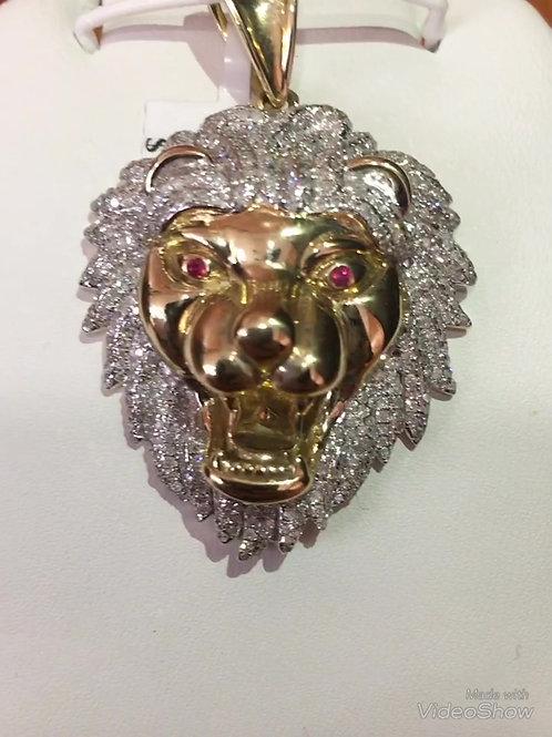 10K YELLOW GOLD PENDANT 1.20 CT DIAMOND