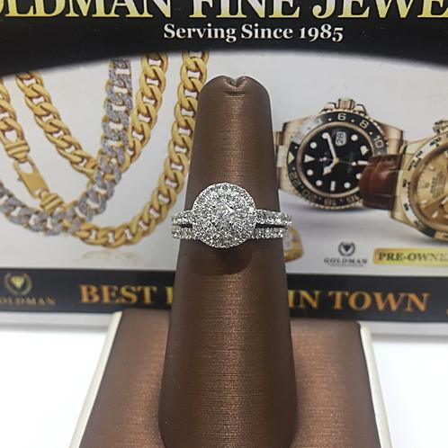 Ladies Diamond Bridal Set # 301596