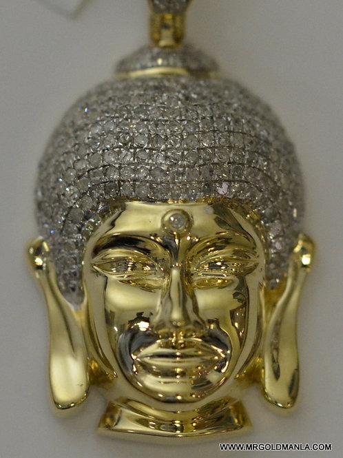 10K YELLOW GOLD 0.68 CT DIAMOND CHARM