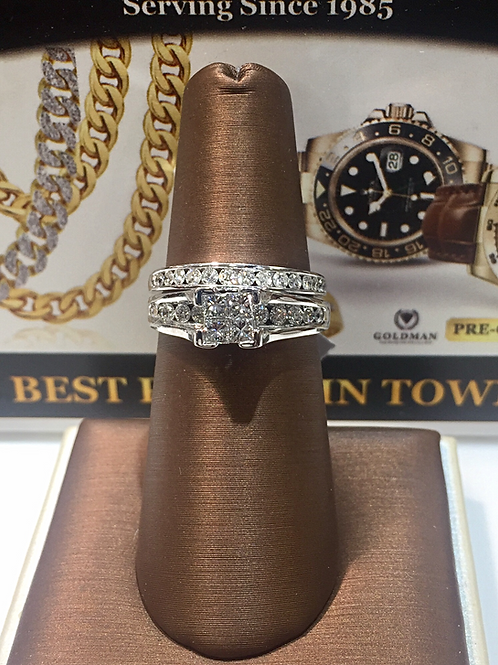 Ladies Diamond Bridal Set # 300373