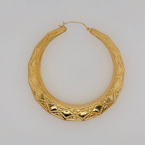 10K SOLID GOLD DOUBLE BO $ SIZE NEW ORLEANS