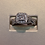 Thumbnail: 14k white gold 0.64ct diamond ring #300481