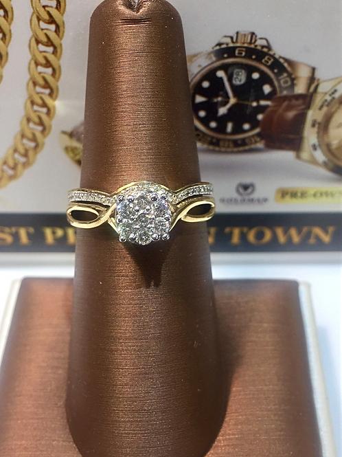 Ladies Diamond Bridal Set #300375
