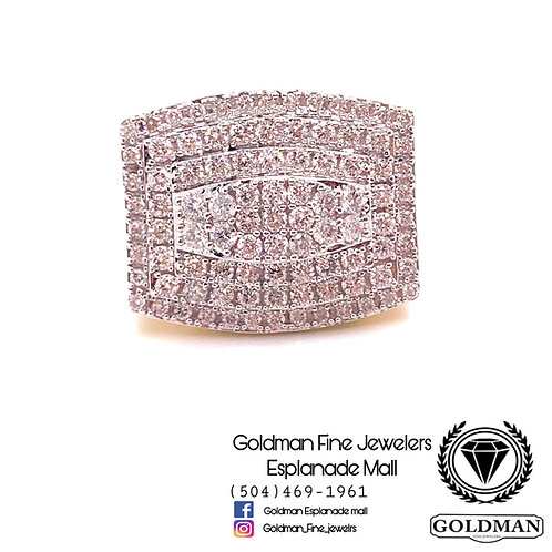 10K YELLOW GOLD 2.00CT DIAMOND MENS RING ON SALE