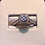 Thumbnail: 14k white gold 0.75 ct diamond ring #300346