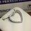 Thumbnail: 18k WG 0.20ct. Diamonds Ladies Heart Pendant.                  Online Offer Only