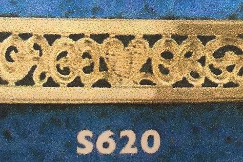 10k Gold Monogram Band