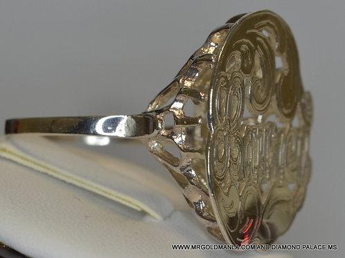 GOLD BASKET RING