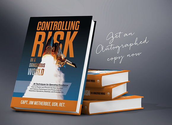 Controlling Risk – 1 Hardcover Book (autographed)
