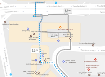 Finding your way to EduZ Tuition Centre (Woodlands)